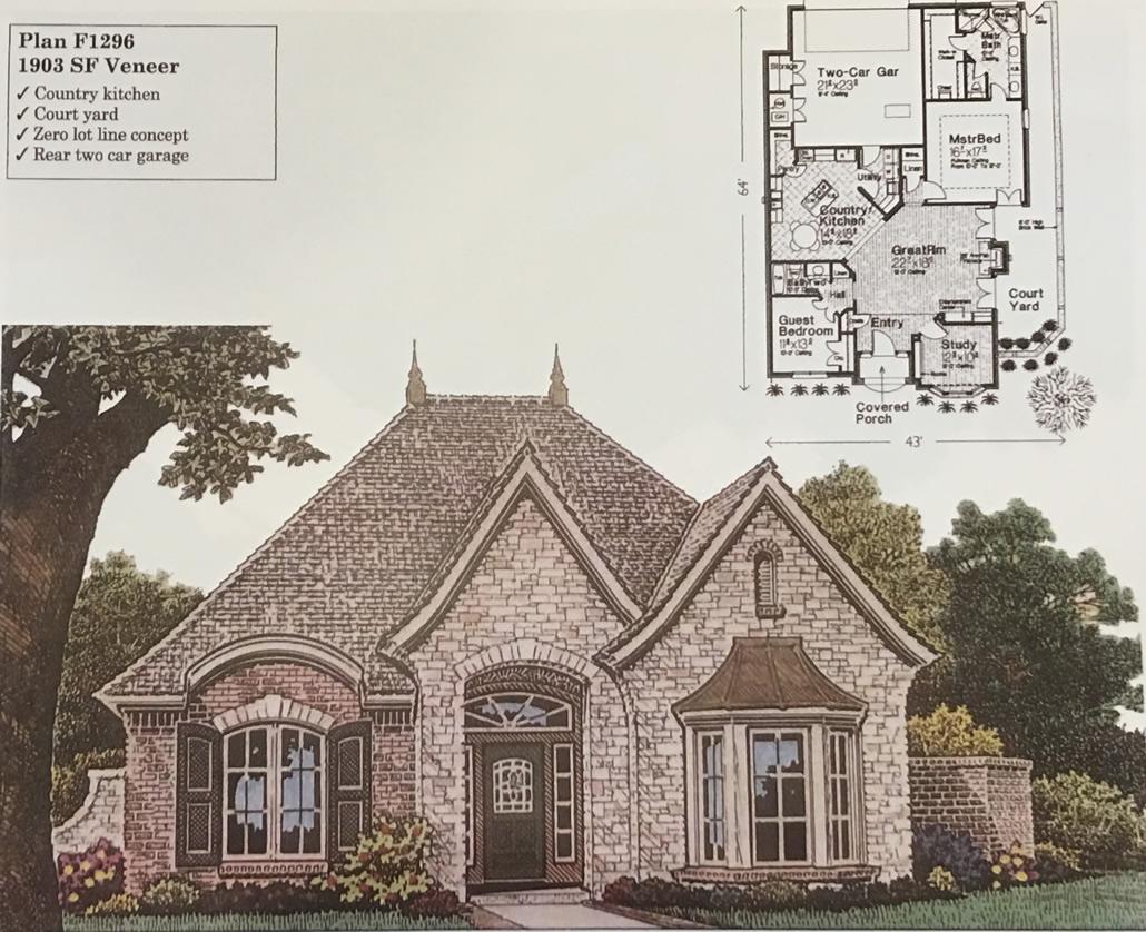 100 Zero Lot House Plans Townhouse Plans 4 Plex