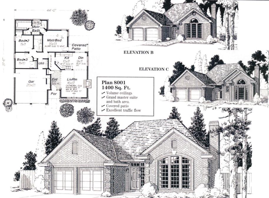 Bristow Home Designs | Biltmore Homes of Tulsa