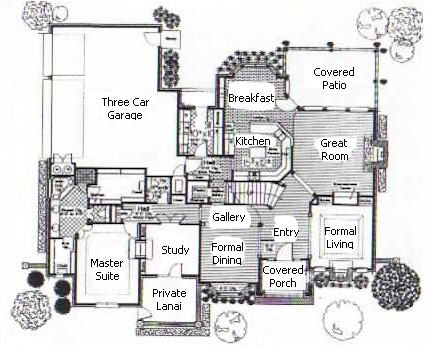 The Trentwood Home Plan Biltmore Homes Of Tulsa